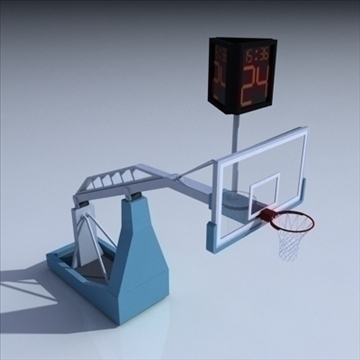 basketball rim 04. 3d model 3ds max c4d ma mb obj other 94868