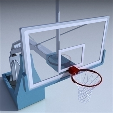basketball rim 04. 3d model 3ds max c4d ma mb obj other 94869