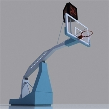 basketball rim 04. 3d model 3ds max c4d ma mb obj other 94873