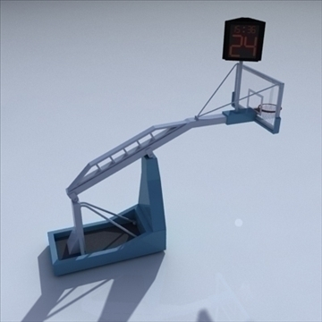 basketball rim 04. 3d model 3ds max c4d ma mb obj other 94874