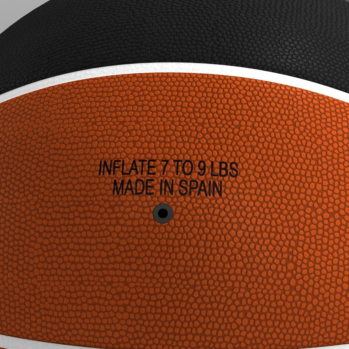 bicolor basketball ball 3d model 3ds max fbx c4d ma mb obj 164741