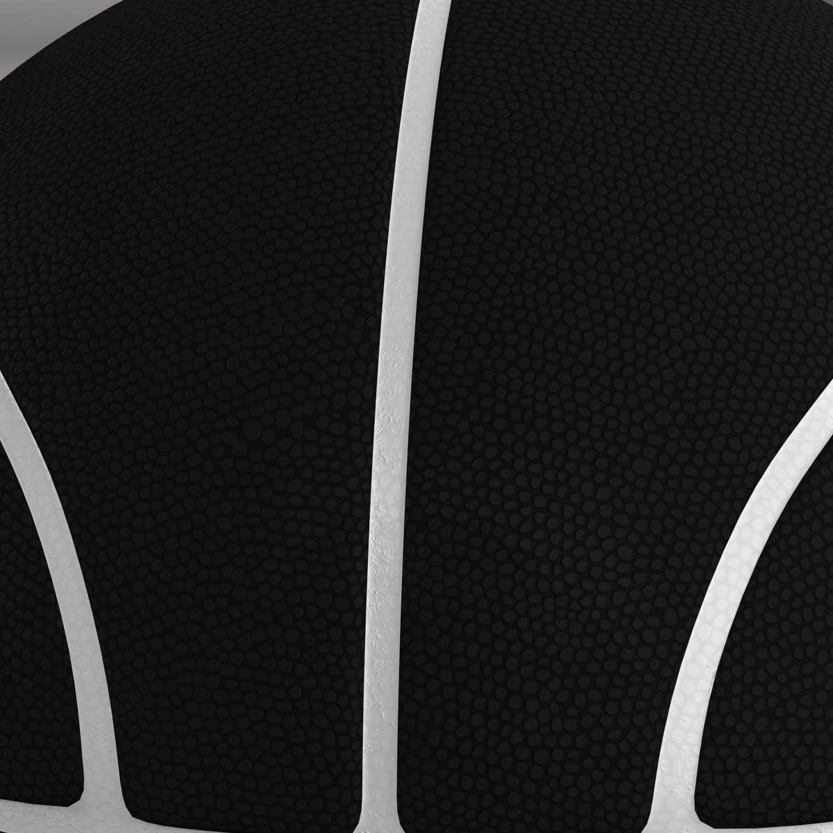 black basketball ball 3d model 3ds max fbx c4d ma mb obj 164935