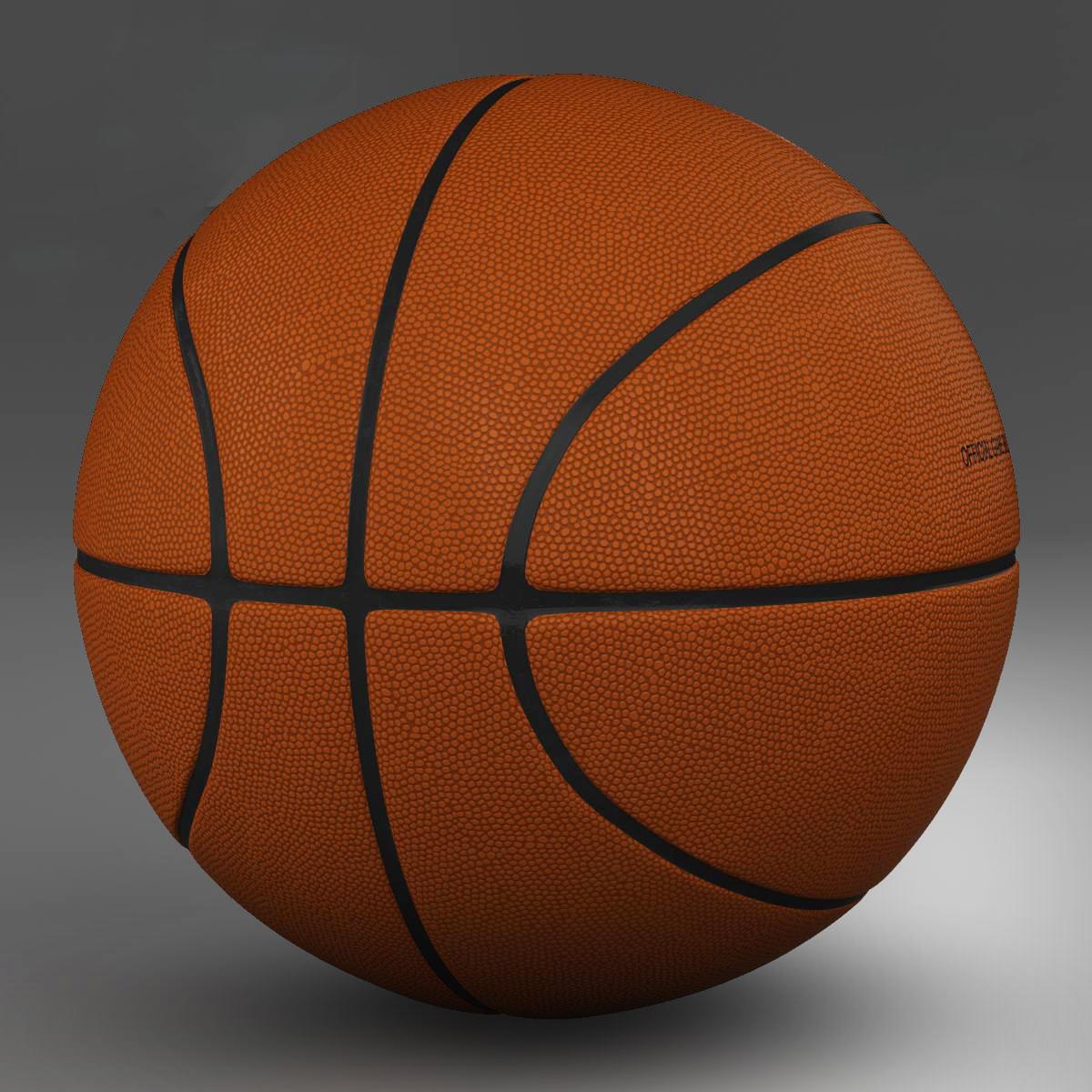 standard basketball ball 3d model 3ds max fbx c4d ma mb obj 164707