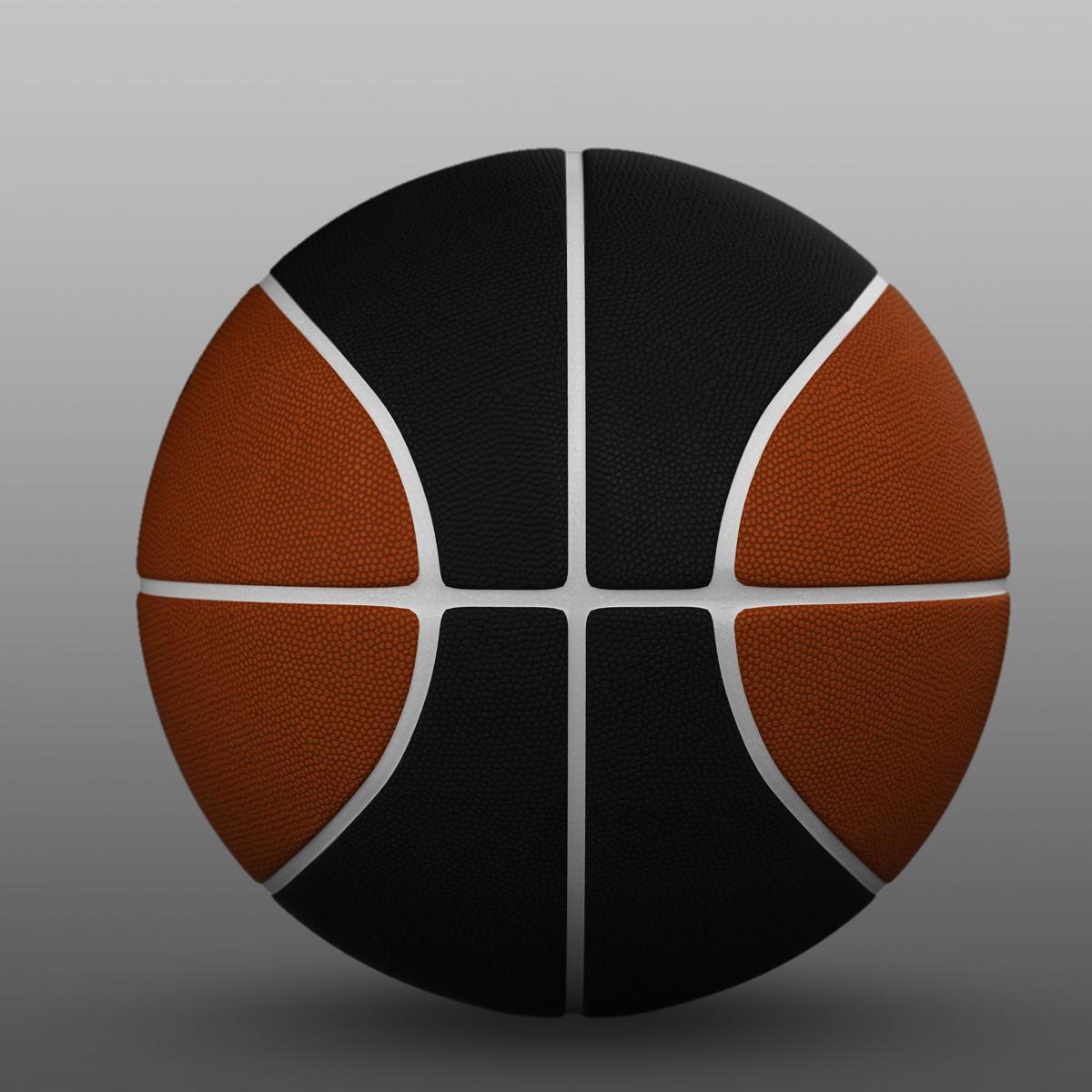 standard basketball ball 3d model 3ds max fbx c4d ma mb obj 164714