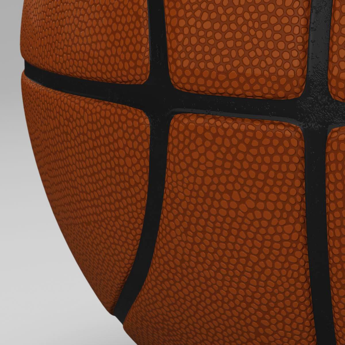 standard basketball ball 3d model 3ds max fbx c4d ma mb obj 164716