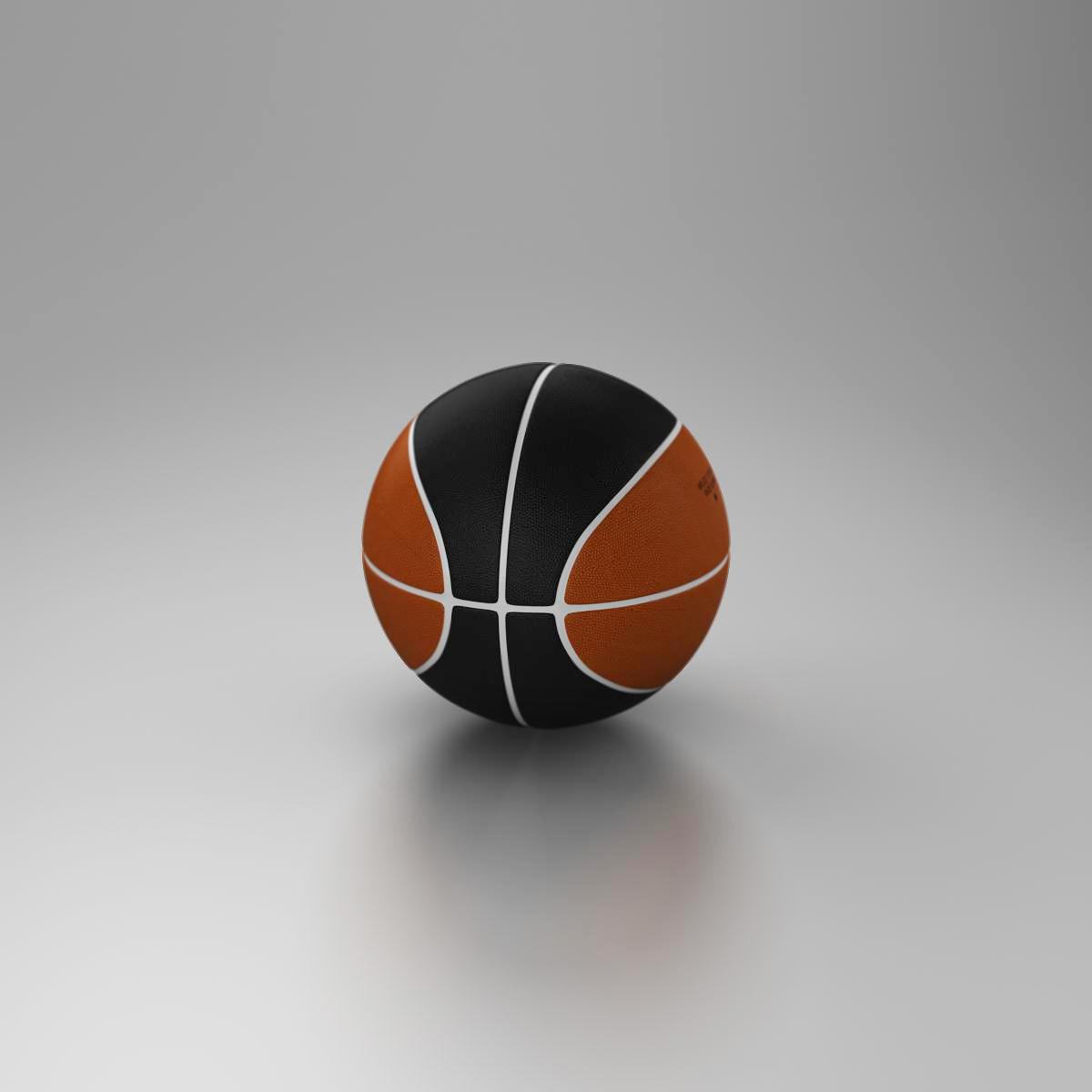 standard basketball ball 3d model 3ds max fbx c4d ma mb obj 164717