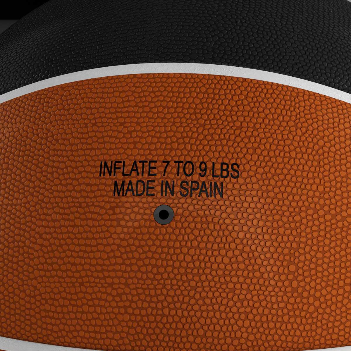 standard basketball ball 3d model 3ds max fbx c4d ma mb obj 164718
