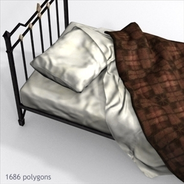 bed 01 3d model max x other 93095