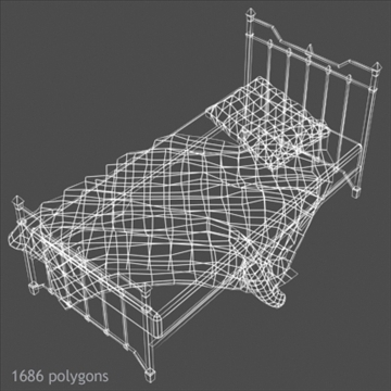 bed 01 3d model max x other 93096