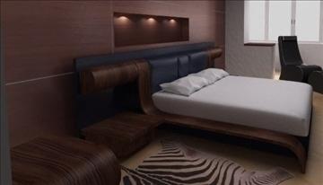 bed 3d model lwo 82021