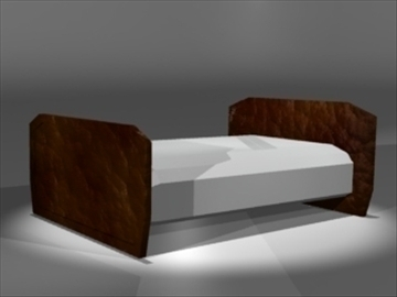 bed2 3d model 3ds dxf lwo 81031