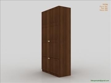 bedroom cabinet 3d model 3ds max fbx obj 111856