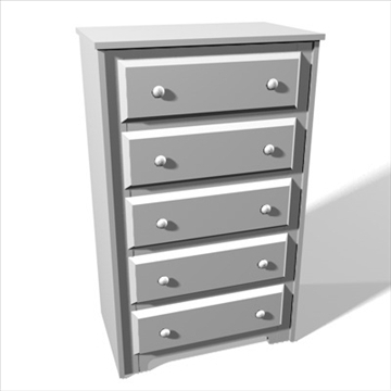 chest of drawers.zip 3d model 3ds dxf fbx c4d x obj 93127