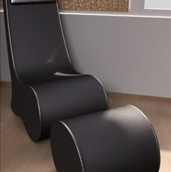 easy chair ( 58.32KB jpg by PrintF )