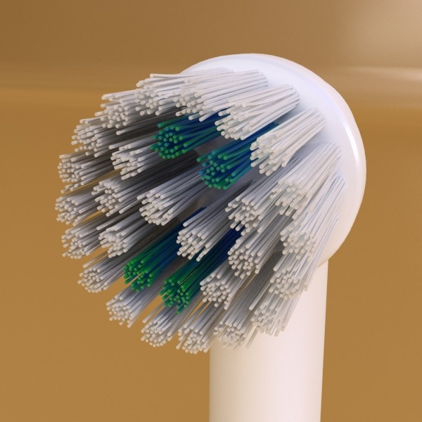electric toothbrush high detail 3d model 3ds max fbx obj 131529