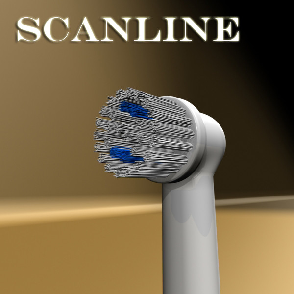 electric toothbrush high detail 3d model 3ds max fbx obj 131531