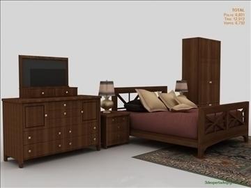 low poly luxury bedroom 3d model 3ds max fbx obj 111859