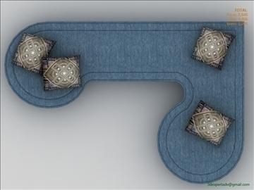 low poly sofa 3d model 3ds max fbx obj 111852