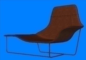 qırmızılı koltuk 3d model lwo 82145