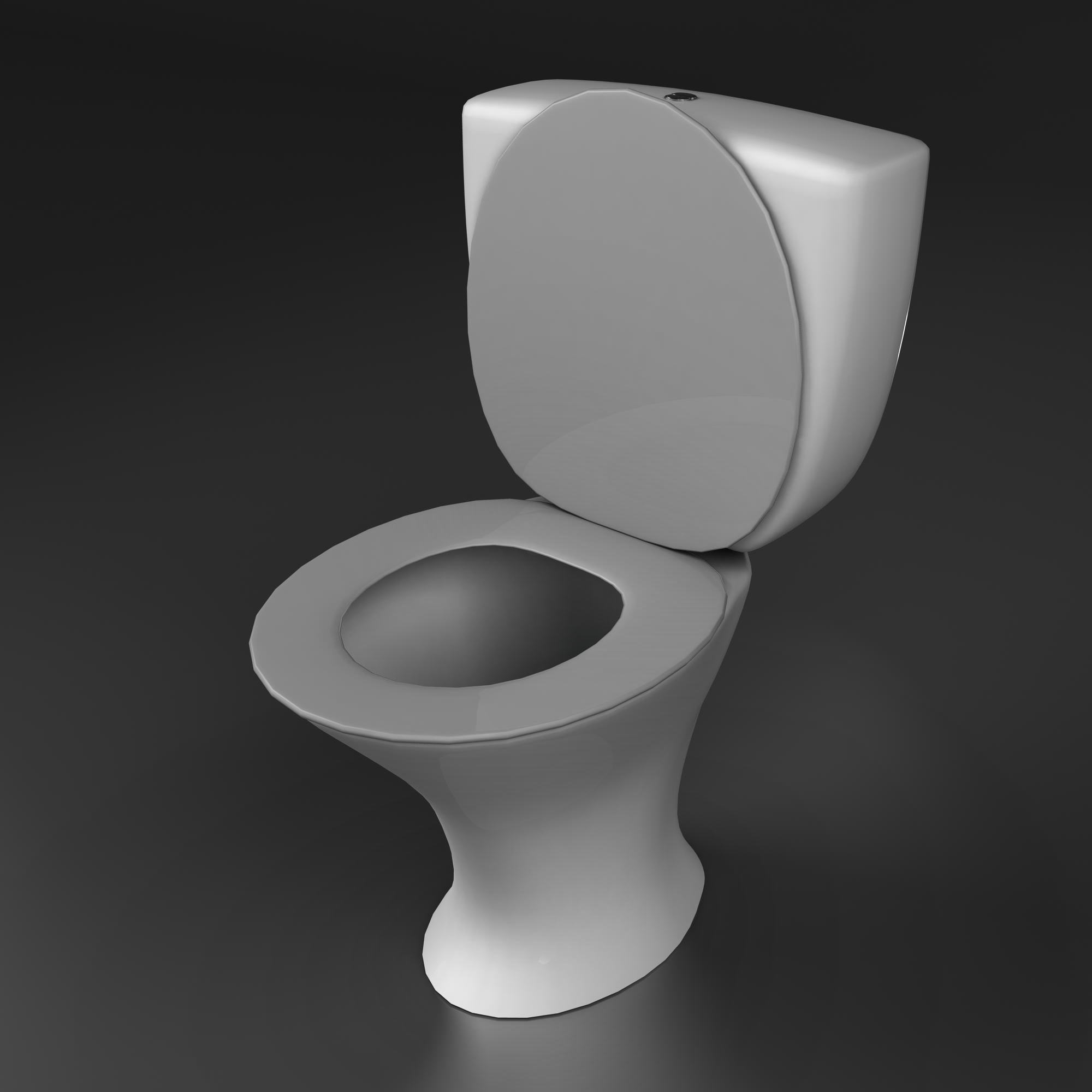 toilet 2 3d model 3ds max fbx ma mb obj 158008