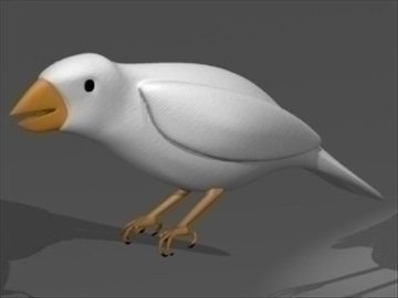 birds 3d model 3ds dxf lwo 80674