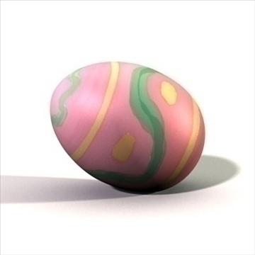 easter egg.zip 3d model 3ds dxf fbx c4d other obj 83654