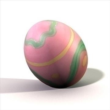 easter egg.zip 3d model 3ds dxf fbx c4d other obj 83655