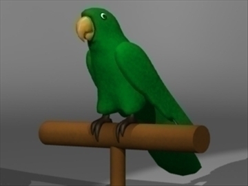 parrot model 3d 3ds dxf lwo 80694