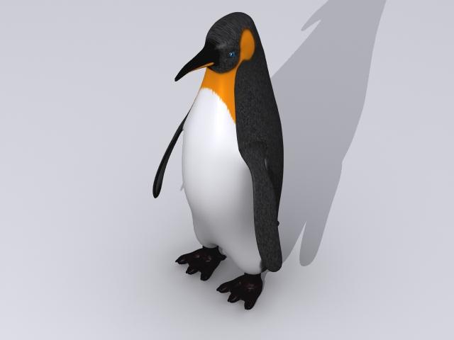Penguin keisari 3d líkan 3ds max fbx 150393