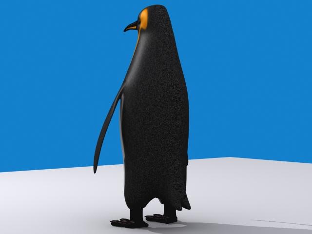 Penguin keisari 3d líkan 3ds max fbx 150396