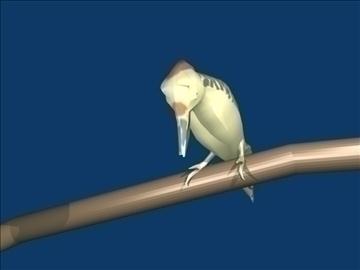 Woodpecker 3d líkan blanda obj 91809