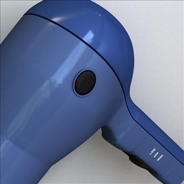hair dryer 3d model 3ds max lwo obj 99796