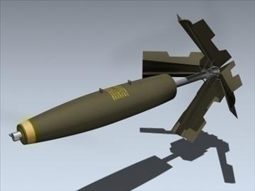 Mk 82 Snakeye ( 43.66KB jpg by Mesh_Factory )