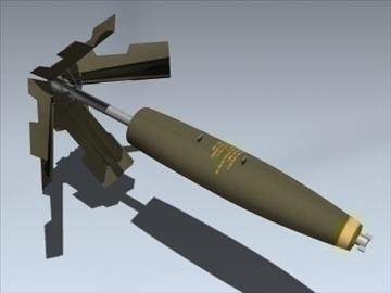 Mk 82 Snakeye ( 43.63KB jpg by Mesh_Factory )