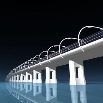 bridge 3d model 3ds dxf c4d obj 77842