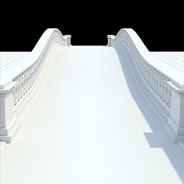 highly detailed central park bow bridge 3d model lwo lxo obj 103812