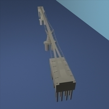milleniumbridge 3d modelo dxf ma mb obj 84531