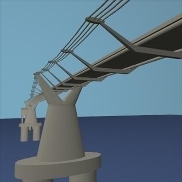 milleniumbridge 3d modelo dxf ma mb obj 84532