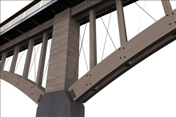 modern köprü 3d modeli max 111885