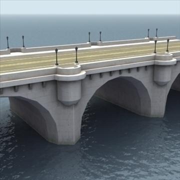 pont neuf bridge Model 3d 3ds max fbx ar gyfer gwead gwead 100448