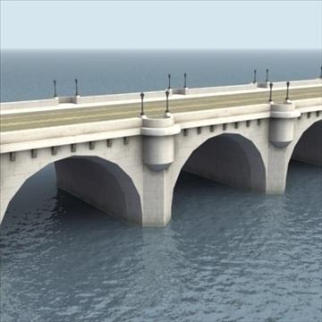pont neuf bridge Model 3d 3ds max fbx ar gyfer gwead gwead 100449