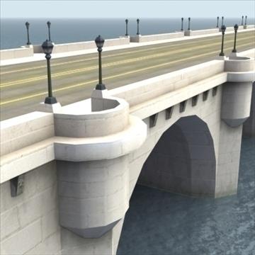 pont neuf bridge Model 3d 3ds max fbx ar gyfer gwead gwead 100450