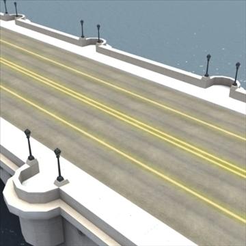 pont neuf bridge Model 3d 3ds max fbx ar gyfer gwead gwead 100451