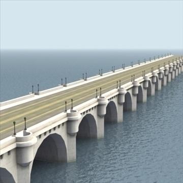 pont neuf bridge Model 3d 3ds max fbx ar gyfer gwead gwead 100452