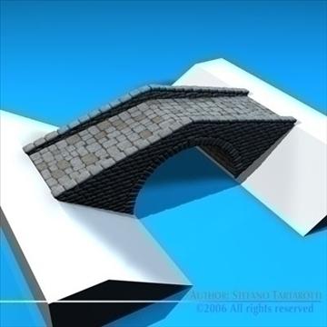 stone bridge v2 3d model 3ds dxf c4d obj 82461