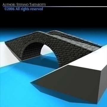 stone bridge v2 3d model 3ds dxf c4d obj 82462