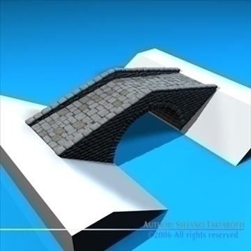 stone bridge v2 3d model 3ds dxf c4d obj 82463