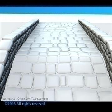 stone bridge v2 3d model 3ds dxf c4d obj 82465