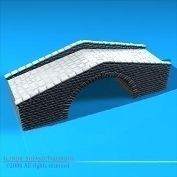 stone bridge v2 3d model 3ds dxf c4d obj 82467