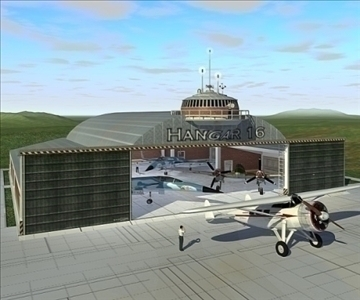 нисэх онгоцны буудал 3d загвар 3ds max c4d lwo obj 82259